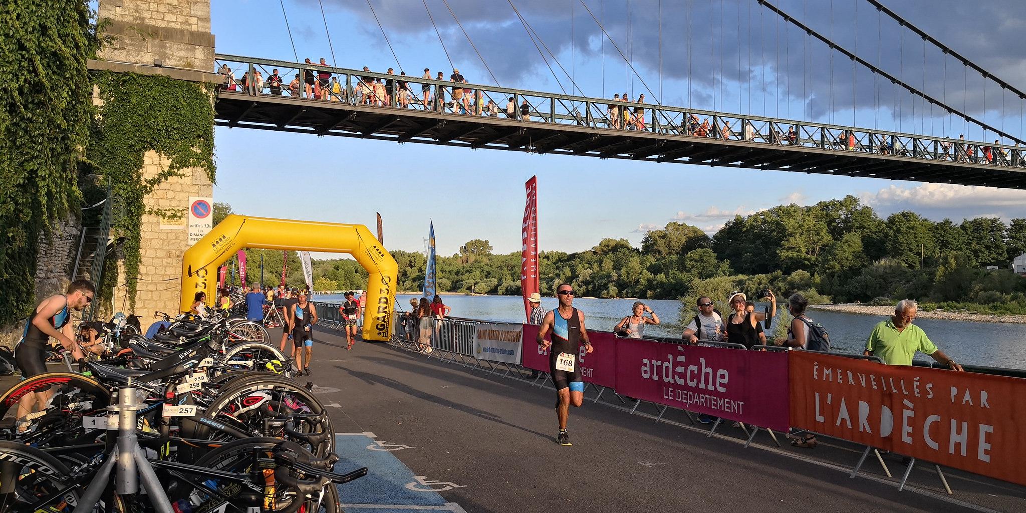 Triathlon des Gorges de l'Ardèche : Challenge Ardèche