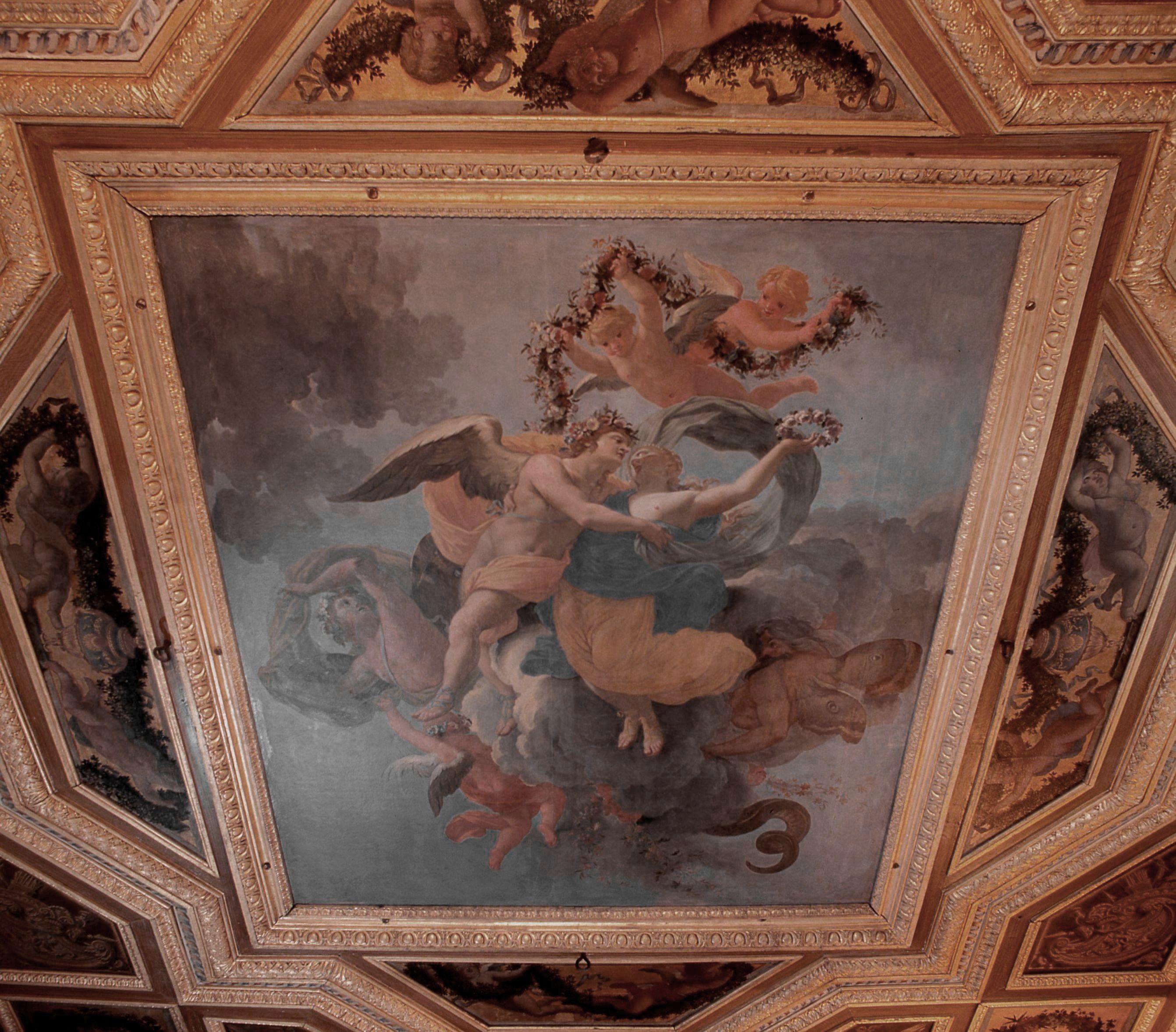 Plafond des salons Mazarin
