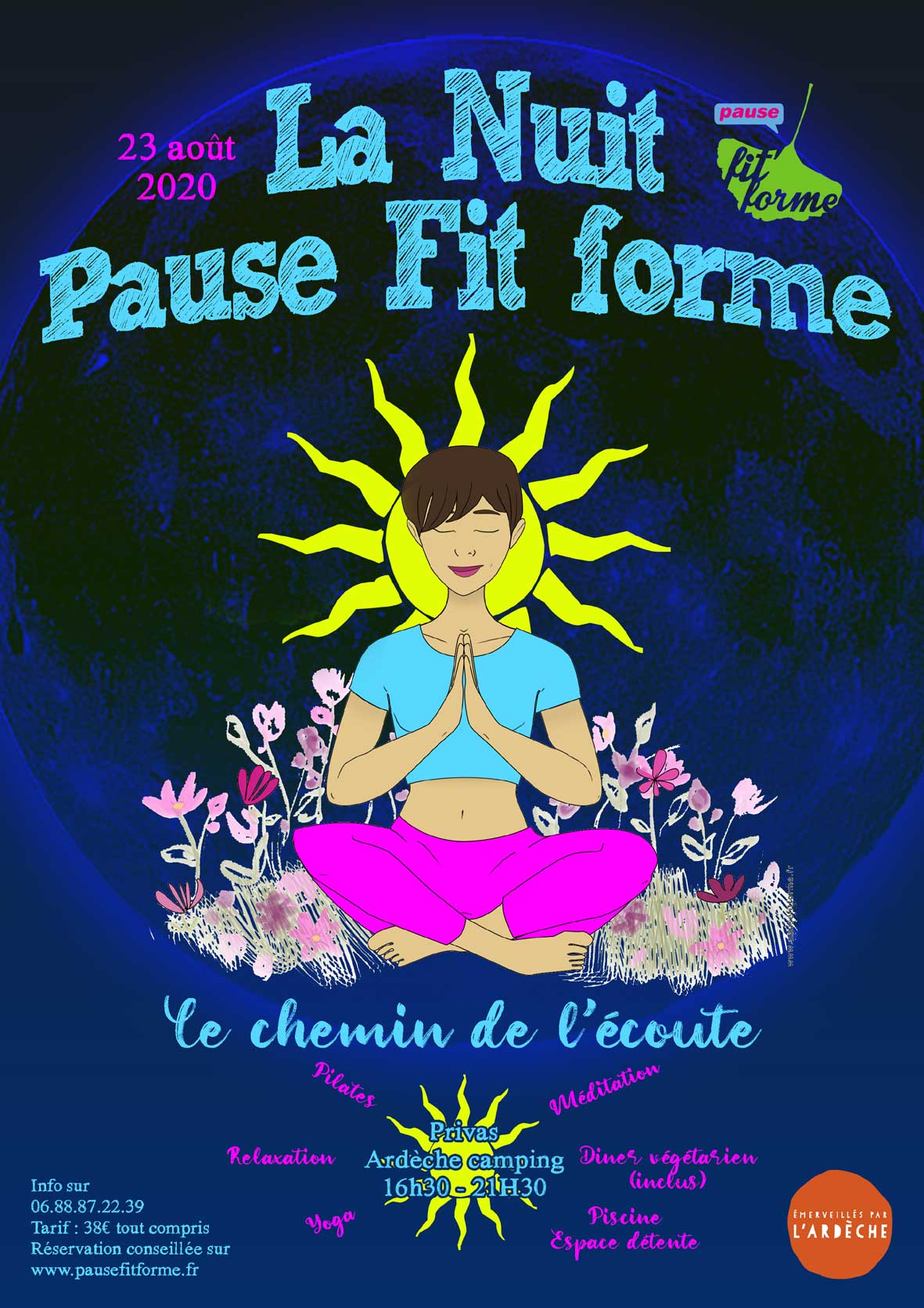 Events…Put it in your diary : La Nuit Pause Fit forme