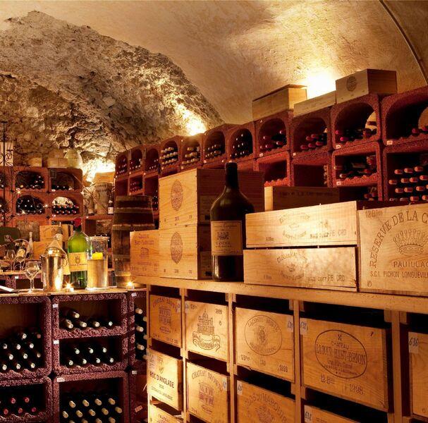 Hostellerie Bérard - Cave à vin - Hostellerie Bérard