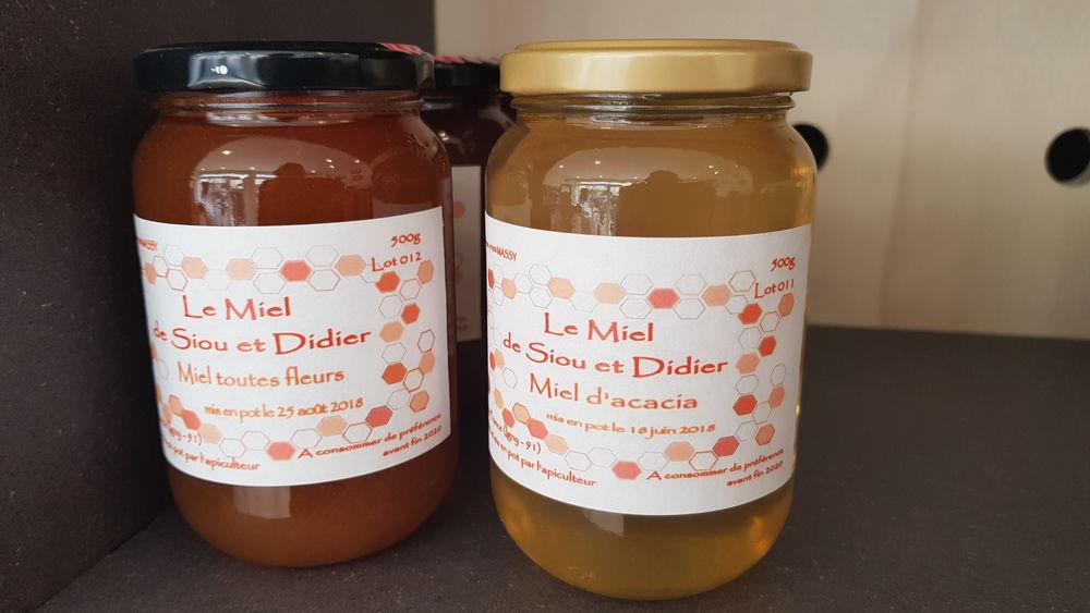 Le miel de Siou et Didier