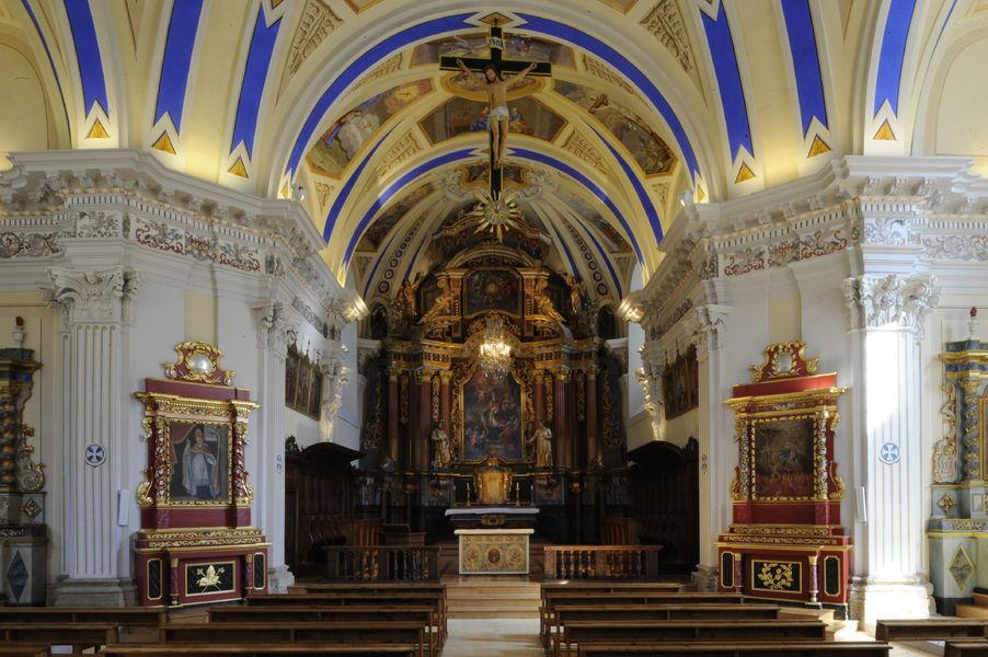 Eglise baroque de Saint Nicolas de Véroce