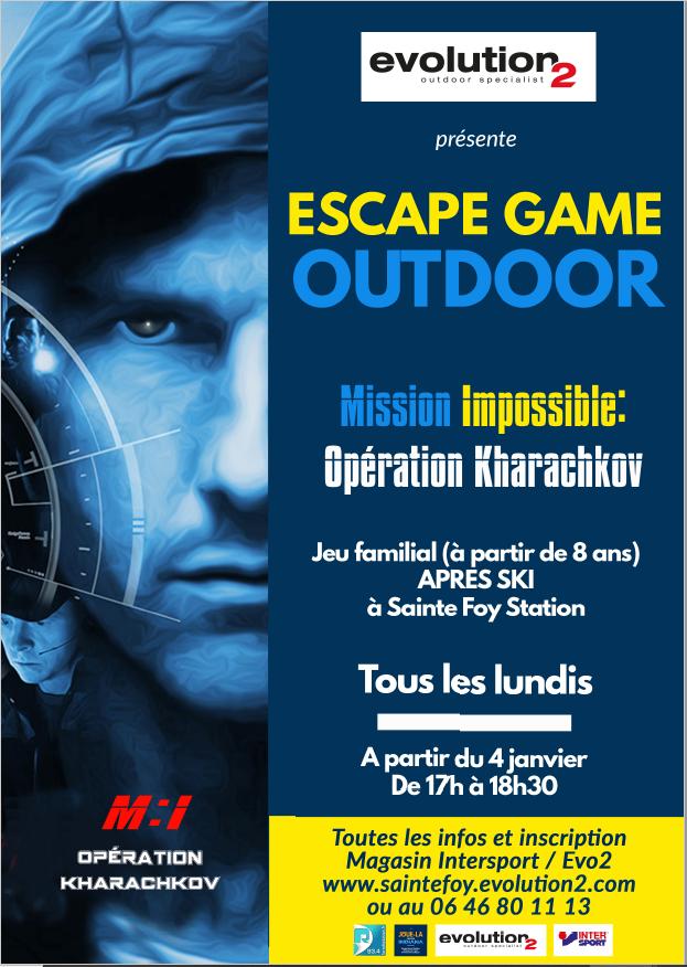 Escape Game - Mission impossible