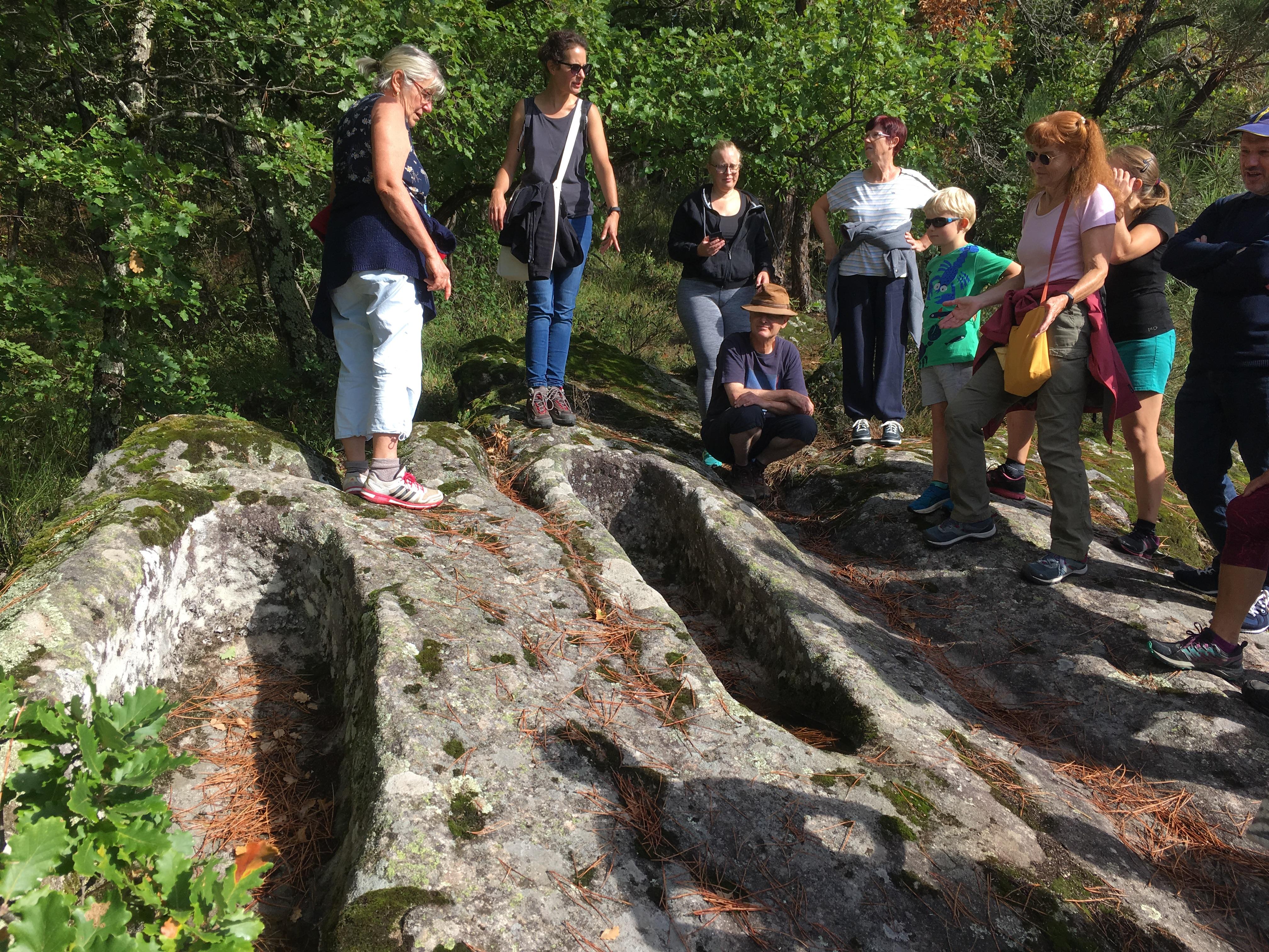 Alle leuke evenementen! : Visite Halloween les tombeaux antiques, Veyras