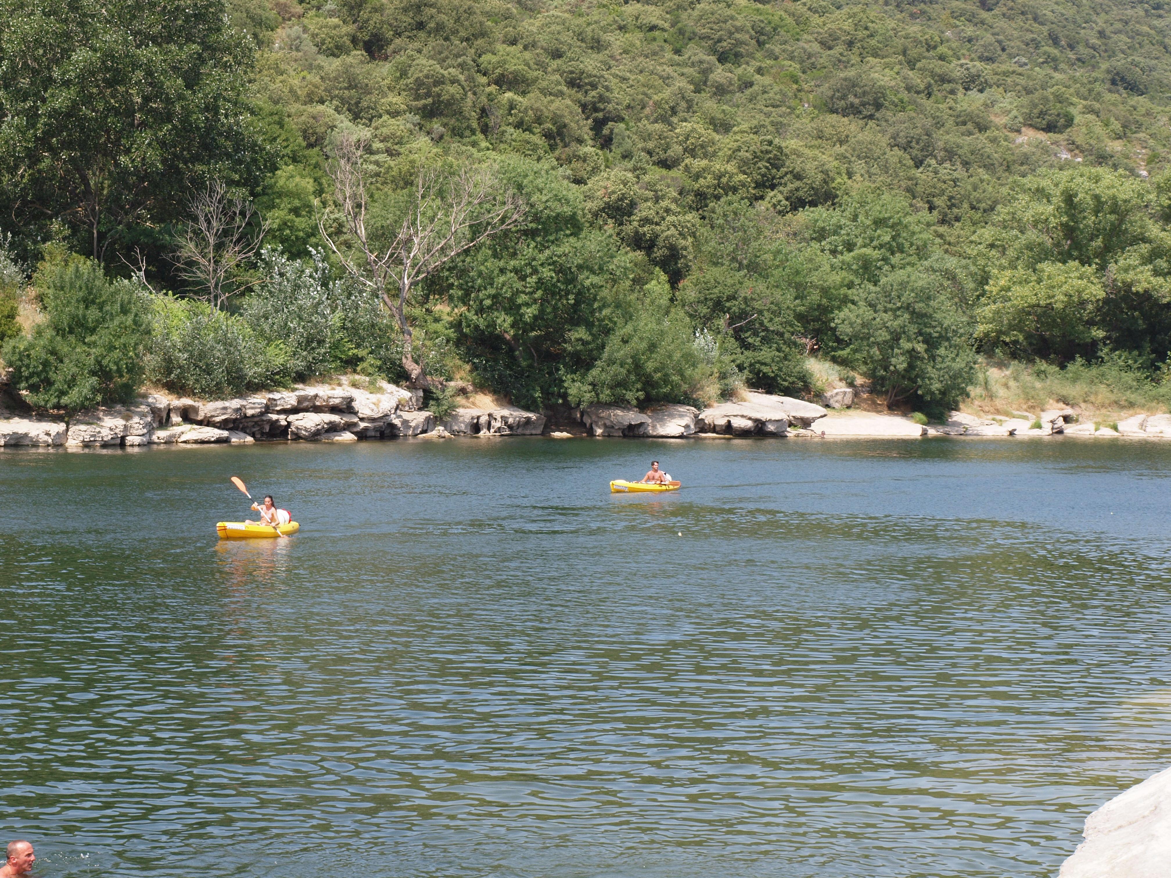 canoe sport ardeche riviere