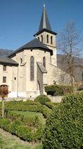 Eglise Saint Laurent-aixlesbainsrivieradesalpes-Vue extérieure