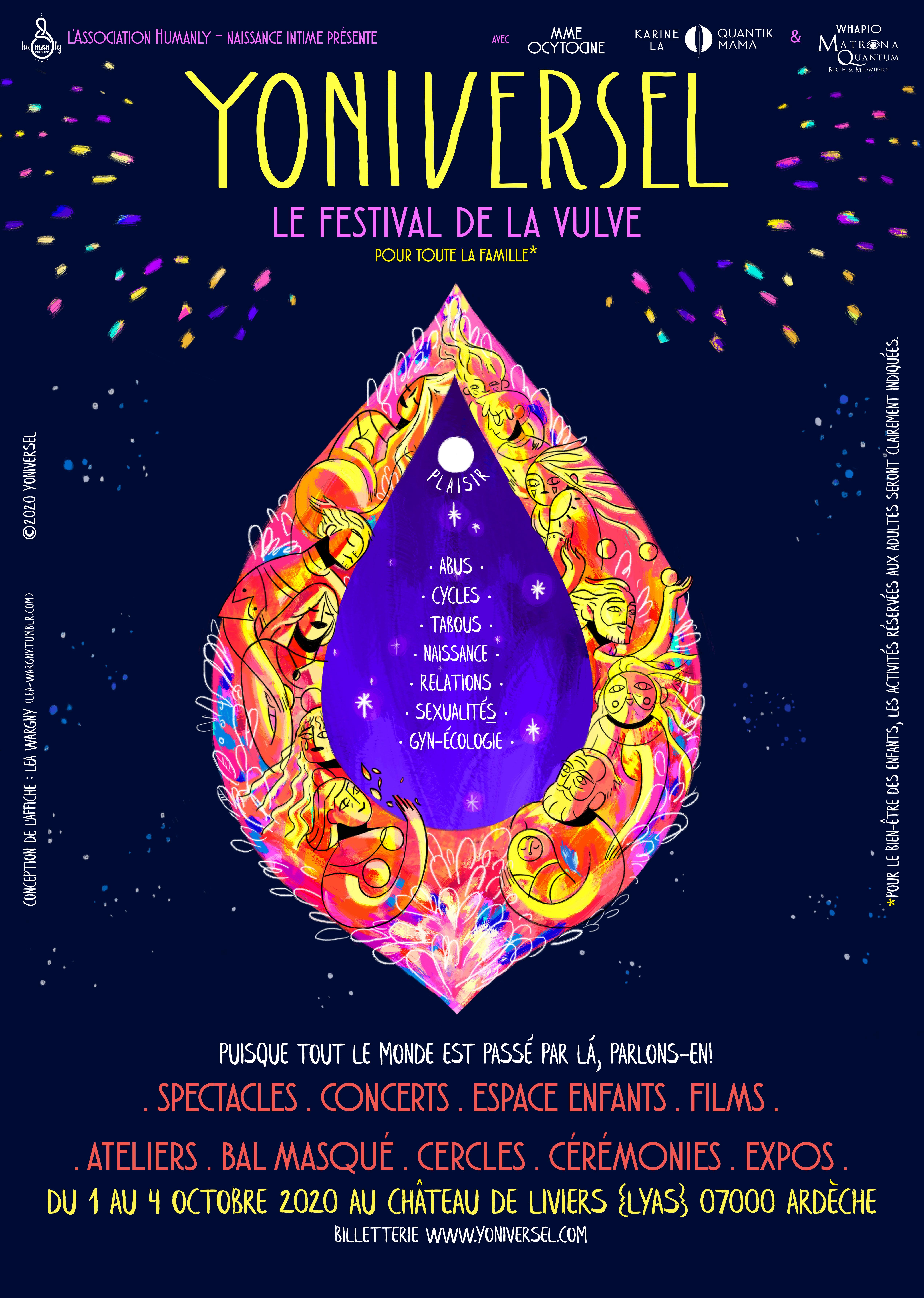 Yoniversel, Festival de la vulve