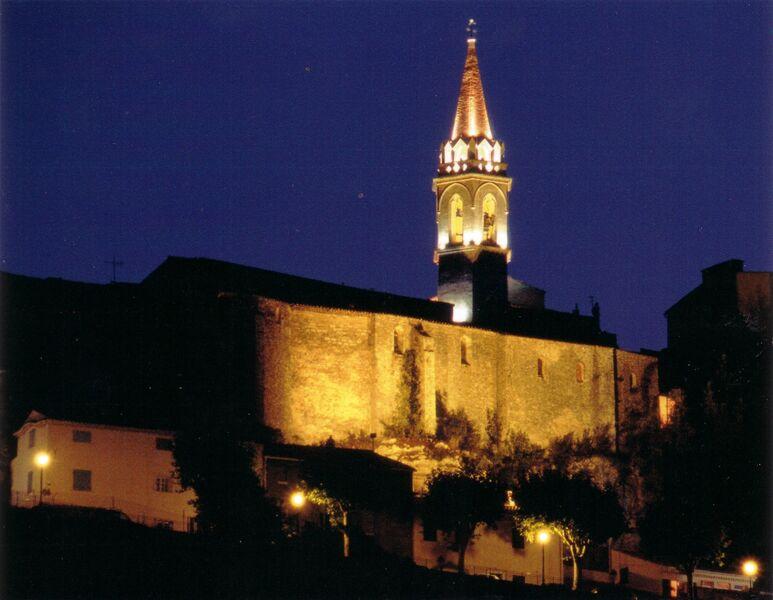 Church's steeple - La Cadiere's Friends - Tourism House