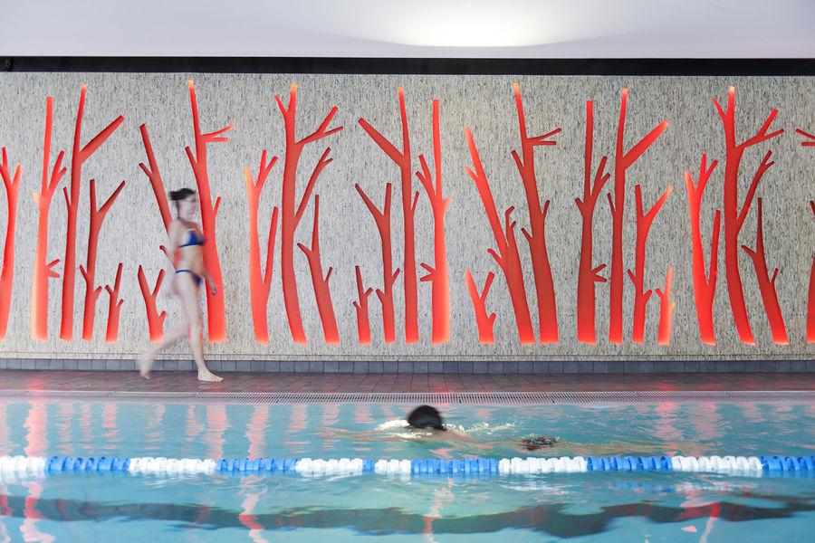 Couloirs de nage