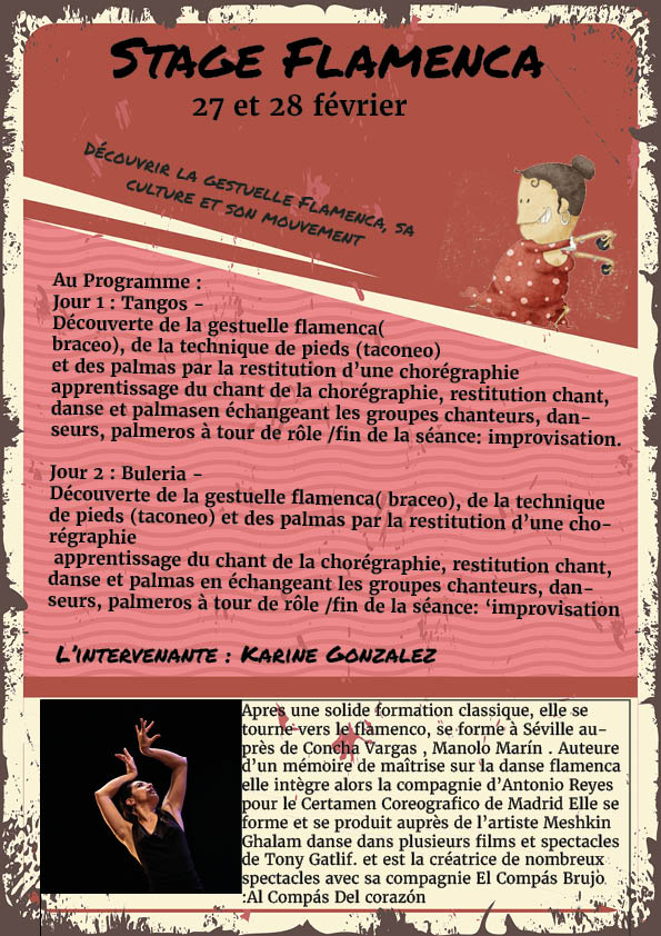 Stage Flamenca