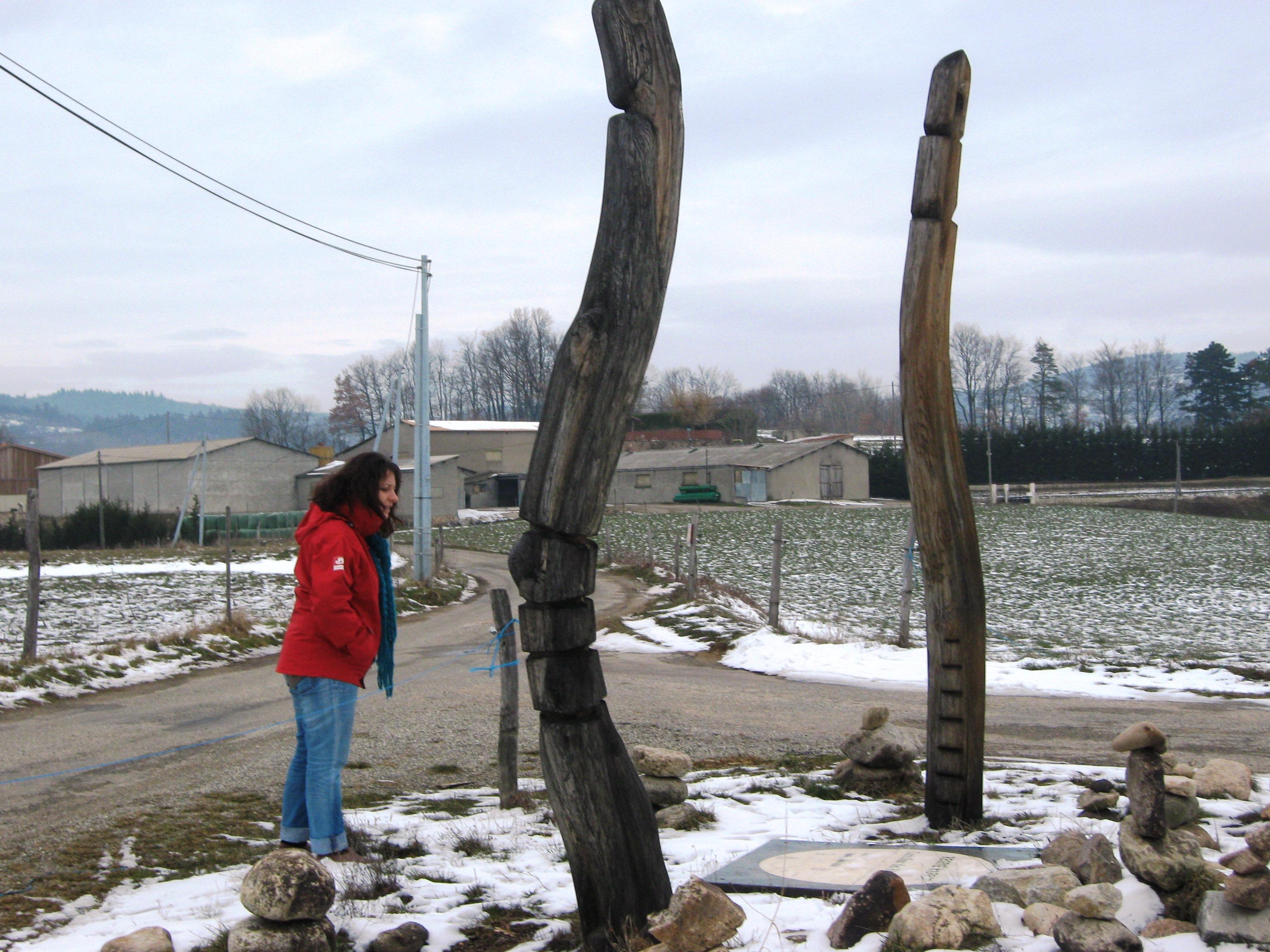 Saint Apollinaire de Rias artistic trail