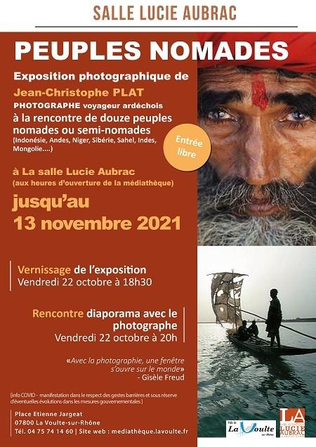 Rendez-vous futés ! : Exposition photographique Peuples nomades
