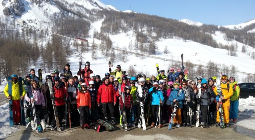 Events…Put it in your diary : Sortie avec le Ski Club de Privas : Week-end à Vars Risoul