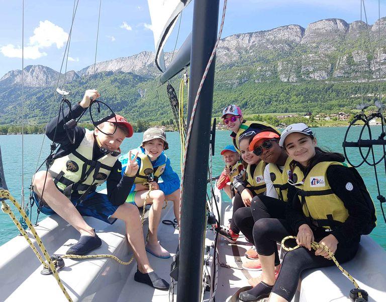 Stage d'été au lac d'Annecy