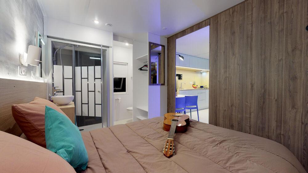 Mobilhome-premium-suite-parentale-Camping-Saint-Disdille