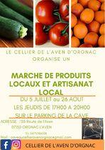 Marché de produits locaux et artisanat local - Orgnac-l'Aven
