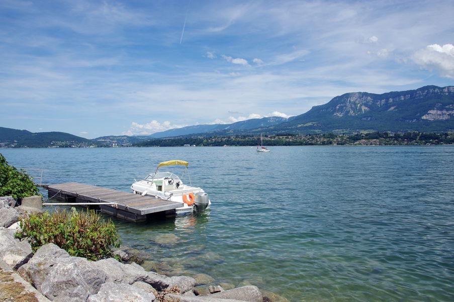 Nautisme sur le lac du Bourget
