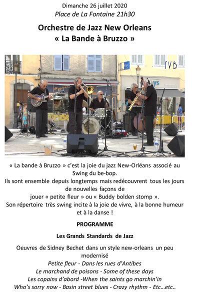 Orchestre de jazz New Orleans