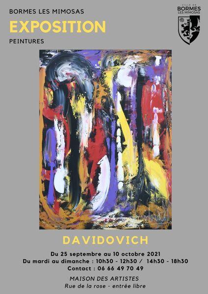 Exposition de Michel David