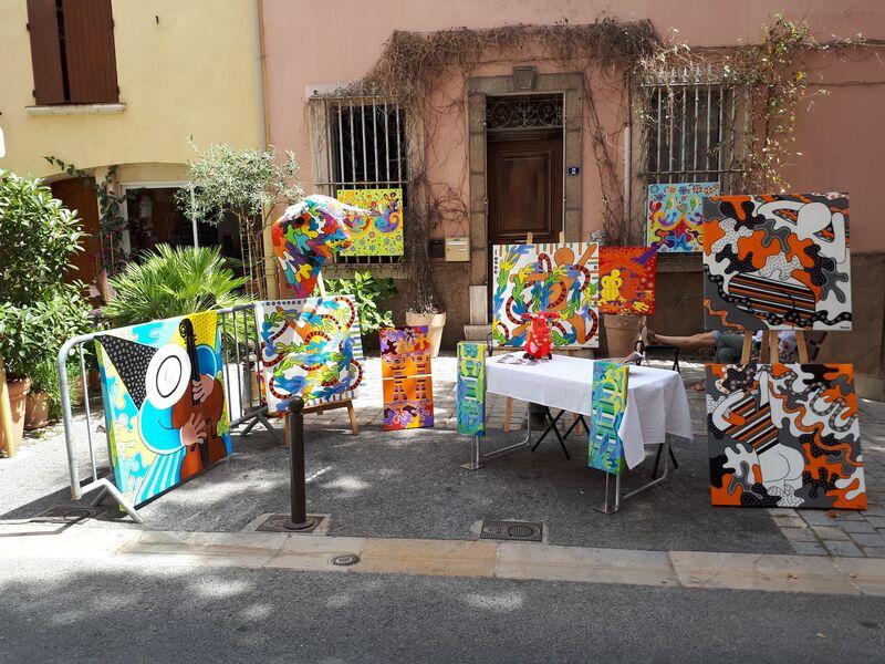Peintres dans rue - Edition 2019 - Corinne Bonifay