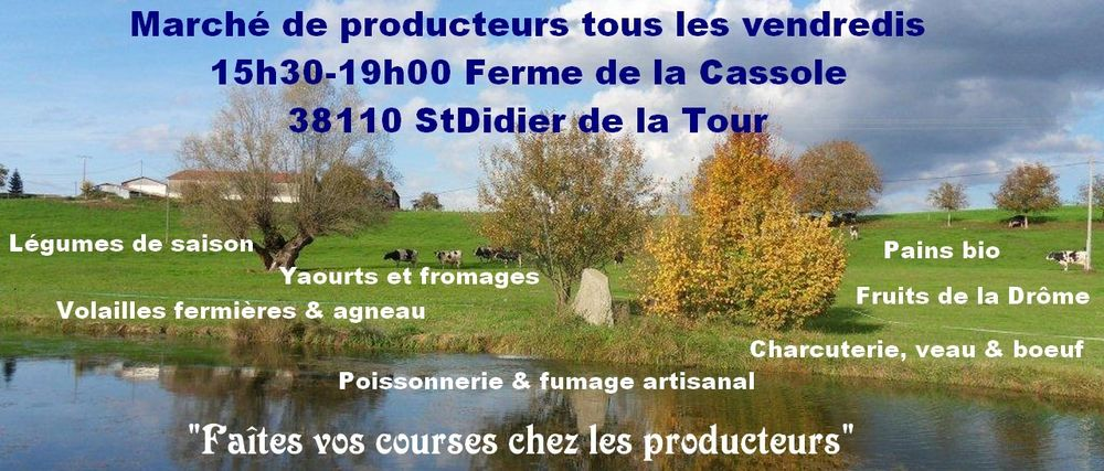 Farmer market - Ferme de la Cassole