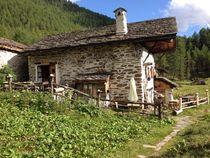 Mountain refuge of Le Monal