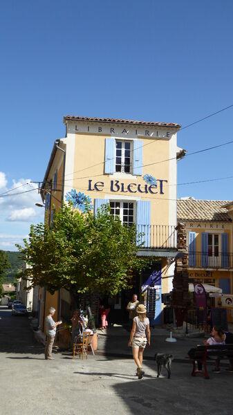 Librairie Le Bleuet à Banon