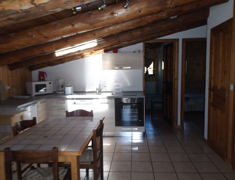 Appartement 4/5 personnes Le Bleuet - Chalet Bois de Sestrières
