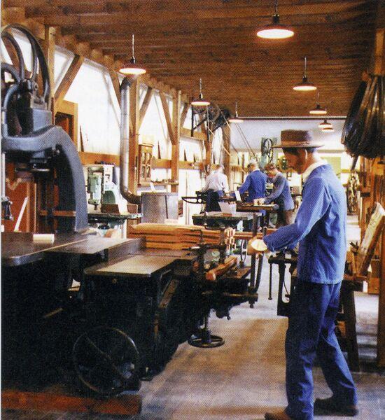 Visite commentée du Musée de la Machine à Bois et de lOutillage à main