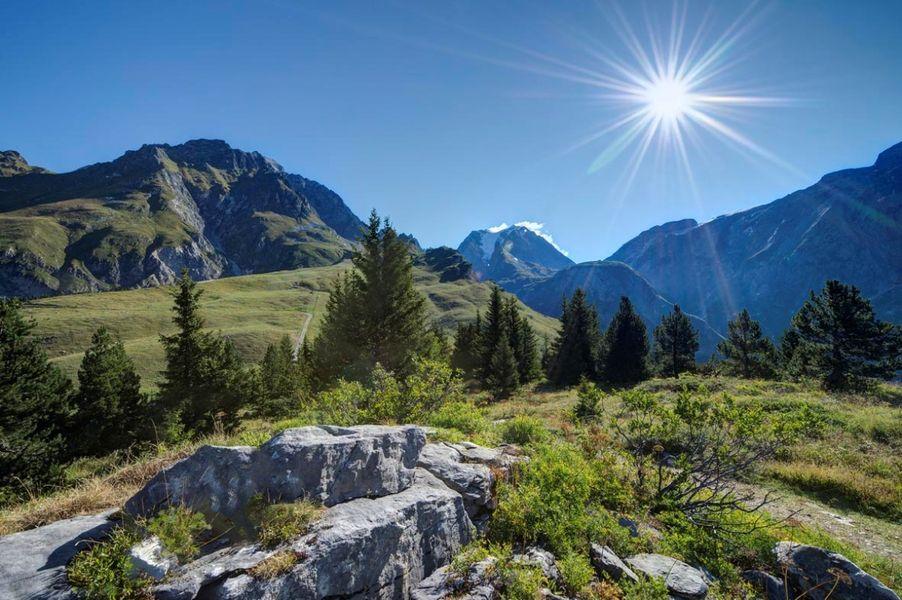 Le Mont Bochor depuis les Fontanettes