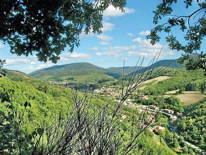 Circuit Velo - C13 Entre Sidobre et Montagne Noire