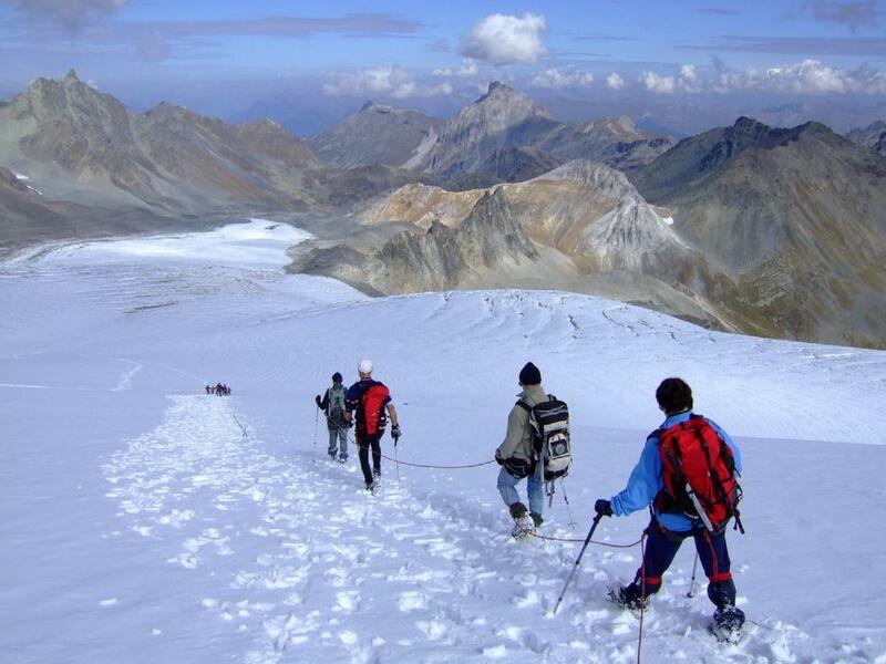 Randonnée glaciaire : Dôme de Polset