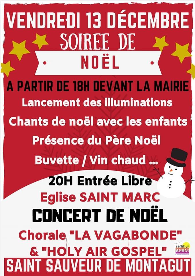 Events…Put it in your diary : Soirée de Noël