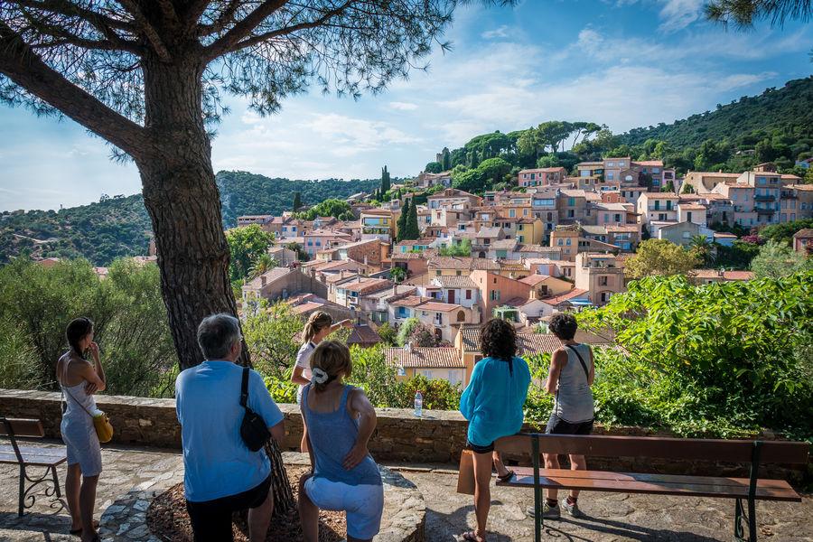 Visite guidée historique du village