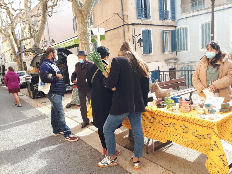 Marché Cadière - Stand - Corinne Bonifay