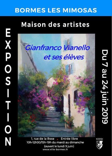 Exposition Gianfranco Vianello et ses élèves