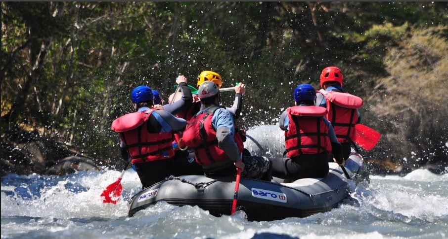 Week-end rafting en Ubaye-Anaconda Rafting