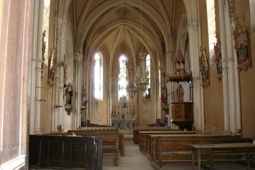 Intérieur de l'Eglise Saint Martin de Villar d'Arène - ©OTlaMeije
