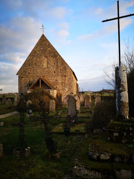 Eglise Saint-Eutrope Lagerville