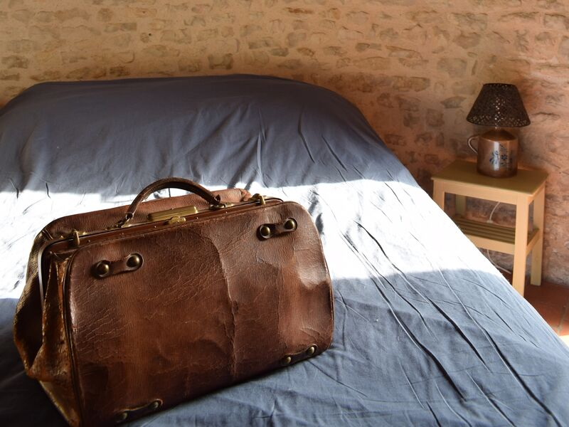Chambre double valise