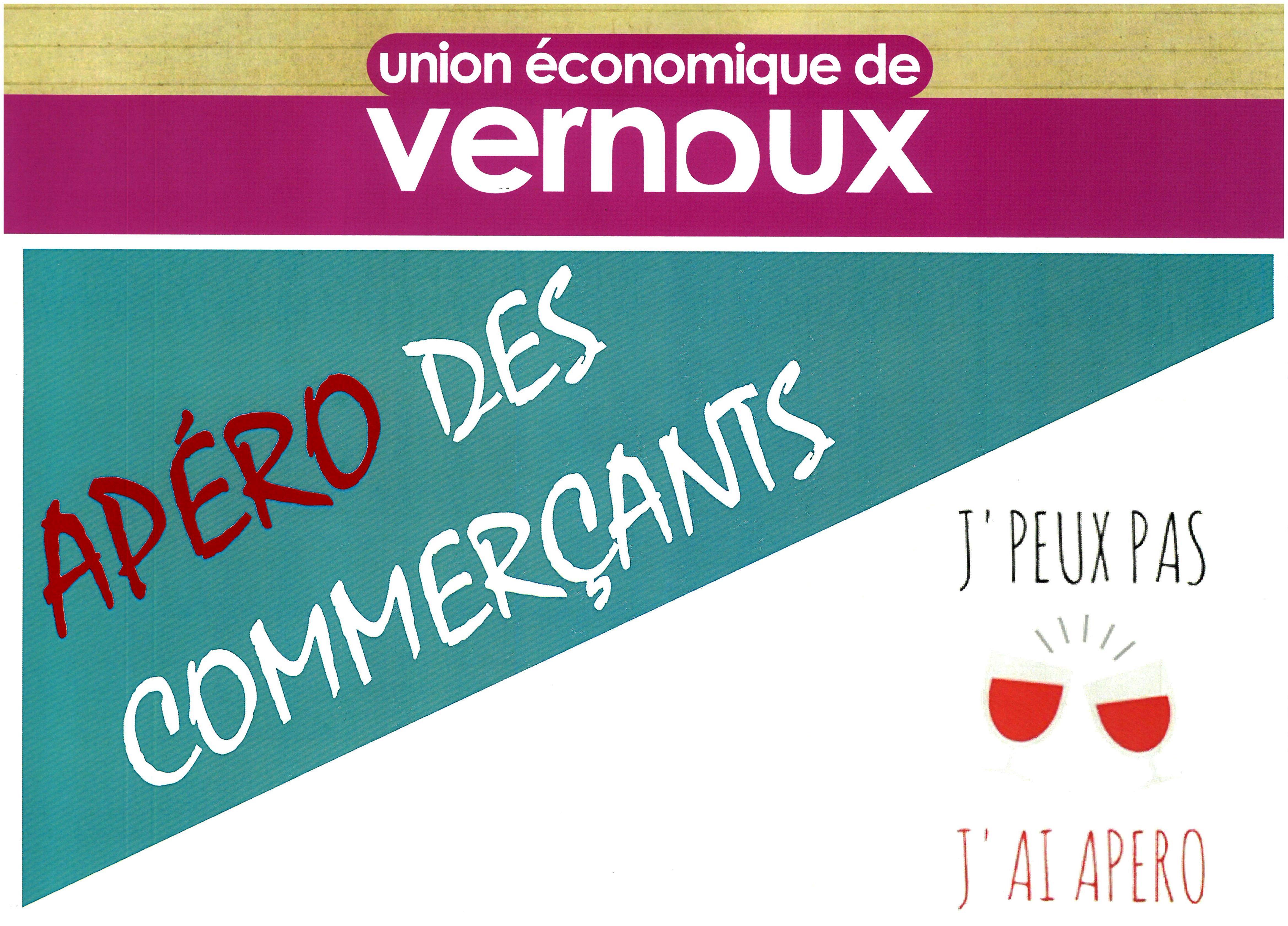 Rendez-vous futés ! : Apéro des commerçants de l'Union économique du Pays de Vernoux