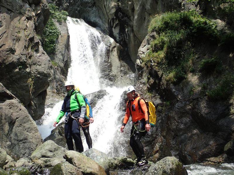 canyoning - canyon river trip