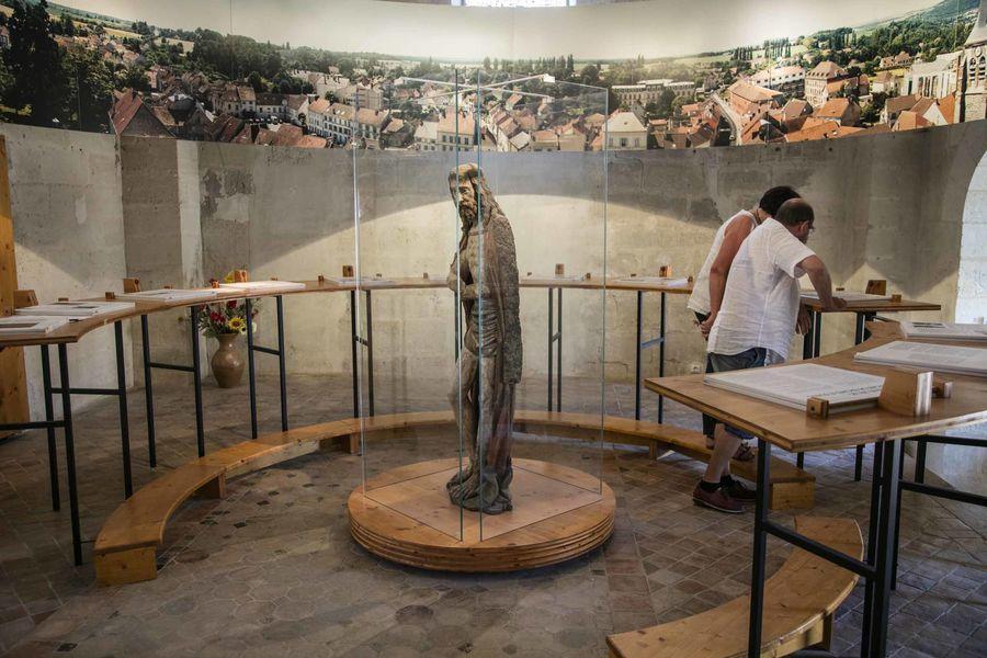 Salle retraçant 14 siècles d'histoire.
