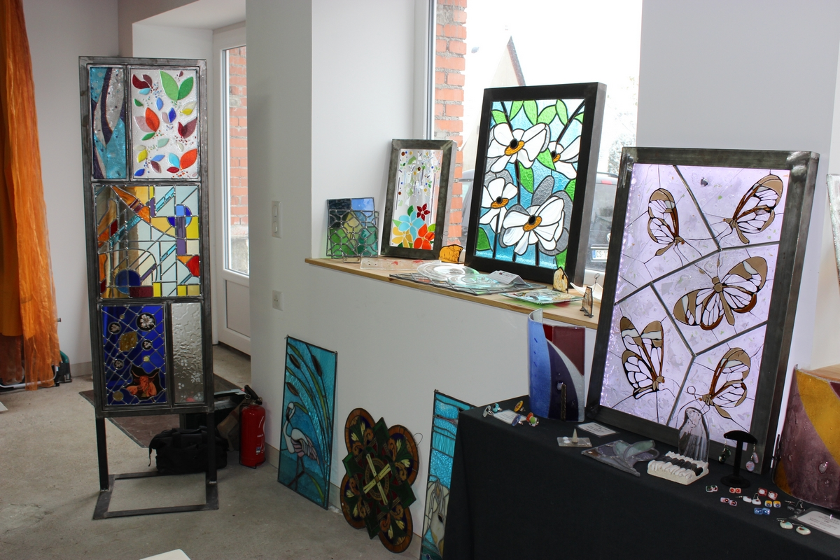 Laëtitia Bastien - Maker specialized in mosaics and stained glass