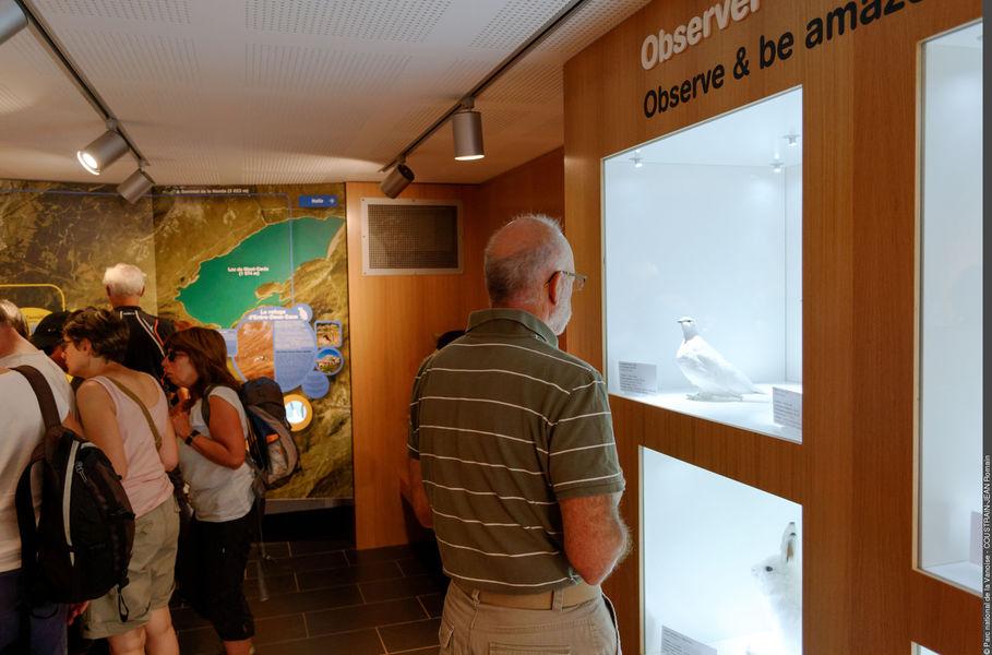 La Maison du Parc à Pralognan-la-Vanoise (exposition)