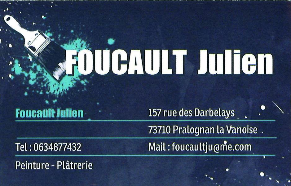 Plâtrerie - Peinture - Julien Foucault