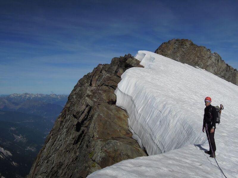 Randonnée glaciaire : Grand Bec