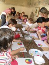 Atelier groupes : La palette du peintre