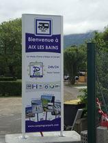 Camping car park Aix les Bains