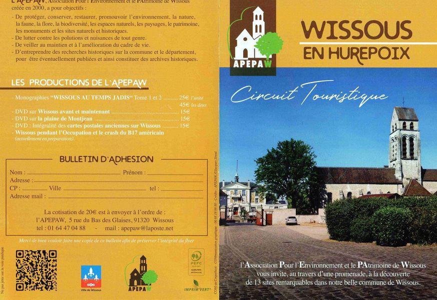 Circuit touristique de Wissous en Hurepoix